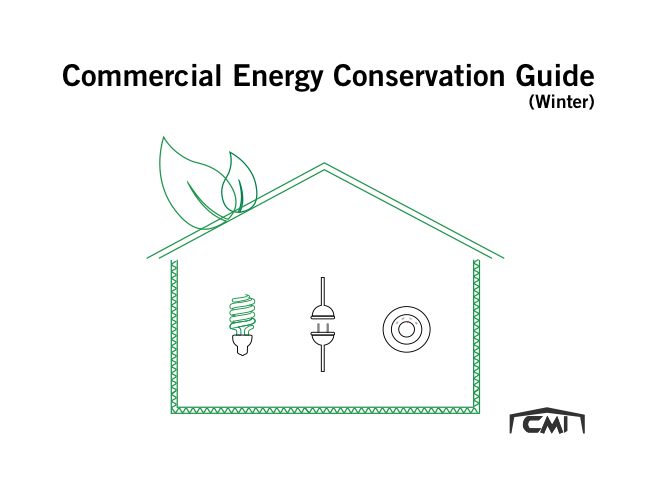 commercial energy conservation guide